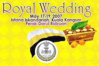 Royal Wedding in Kuala Kangsar