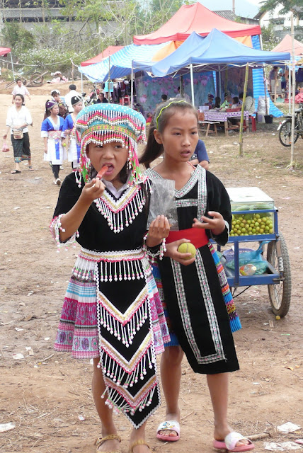 Laos: Hmong New Year festival