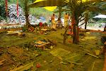 ritual de pedra fundamental em Paraty, RJ