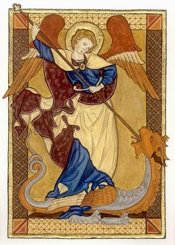 Image result for medieval saints protection