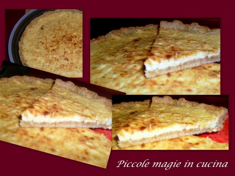 Piccole magie in cucina: Crostata rustica di ricotta ...