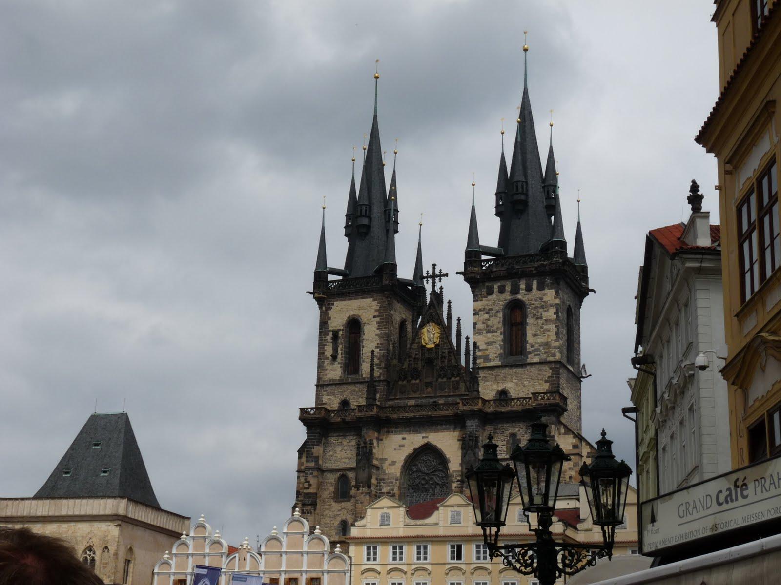 o que fazer em Praga Igreja de Nossa Senhora de Tyn praga