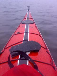 tientibene di un kayak da mare
