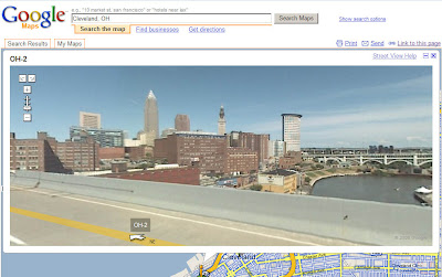 All Things Cleveland Ohio: See Cleveland Via Google Maps ...