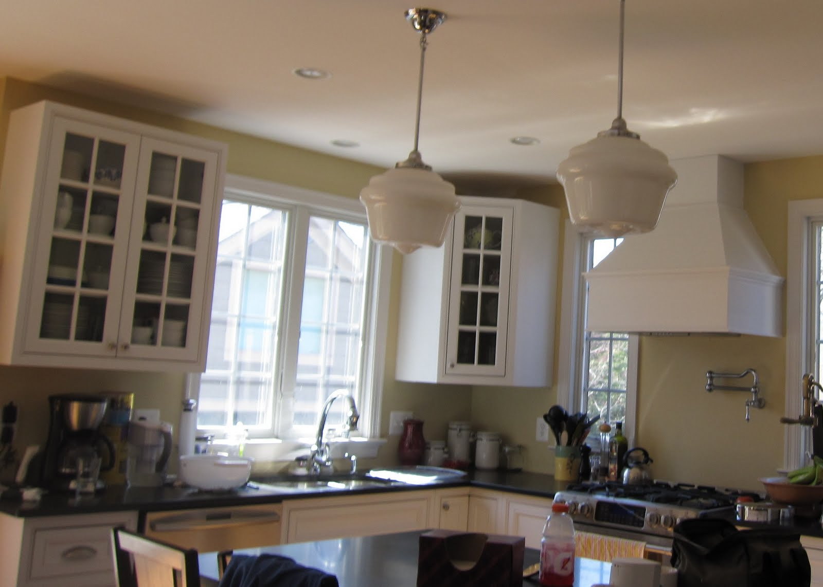 Crown Moulding Above Kitchen Cabinets Remodelaholic Adding Crown Molding In Our Kitchen And