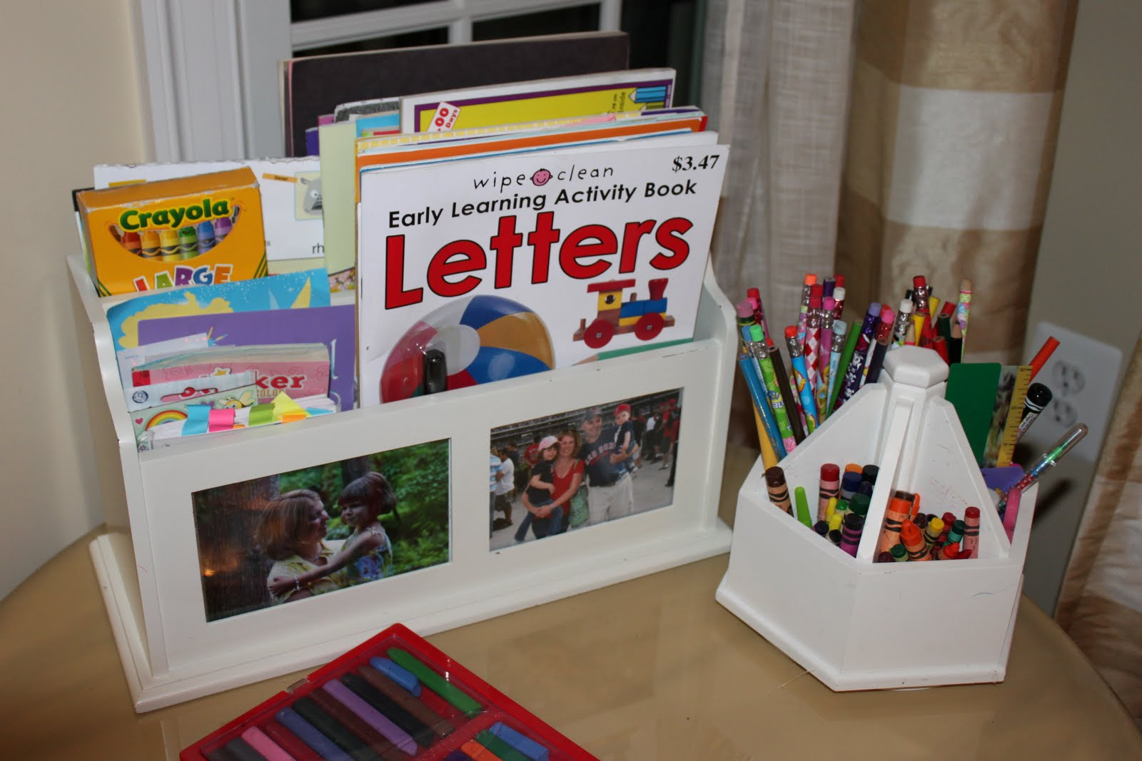 Support Your Budding Artist Kids Art Supply Storage