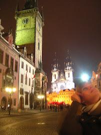 Prague at night, December 07