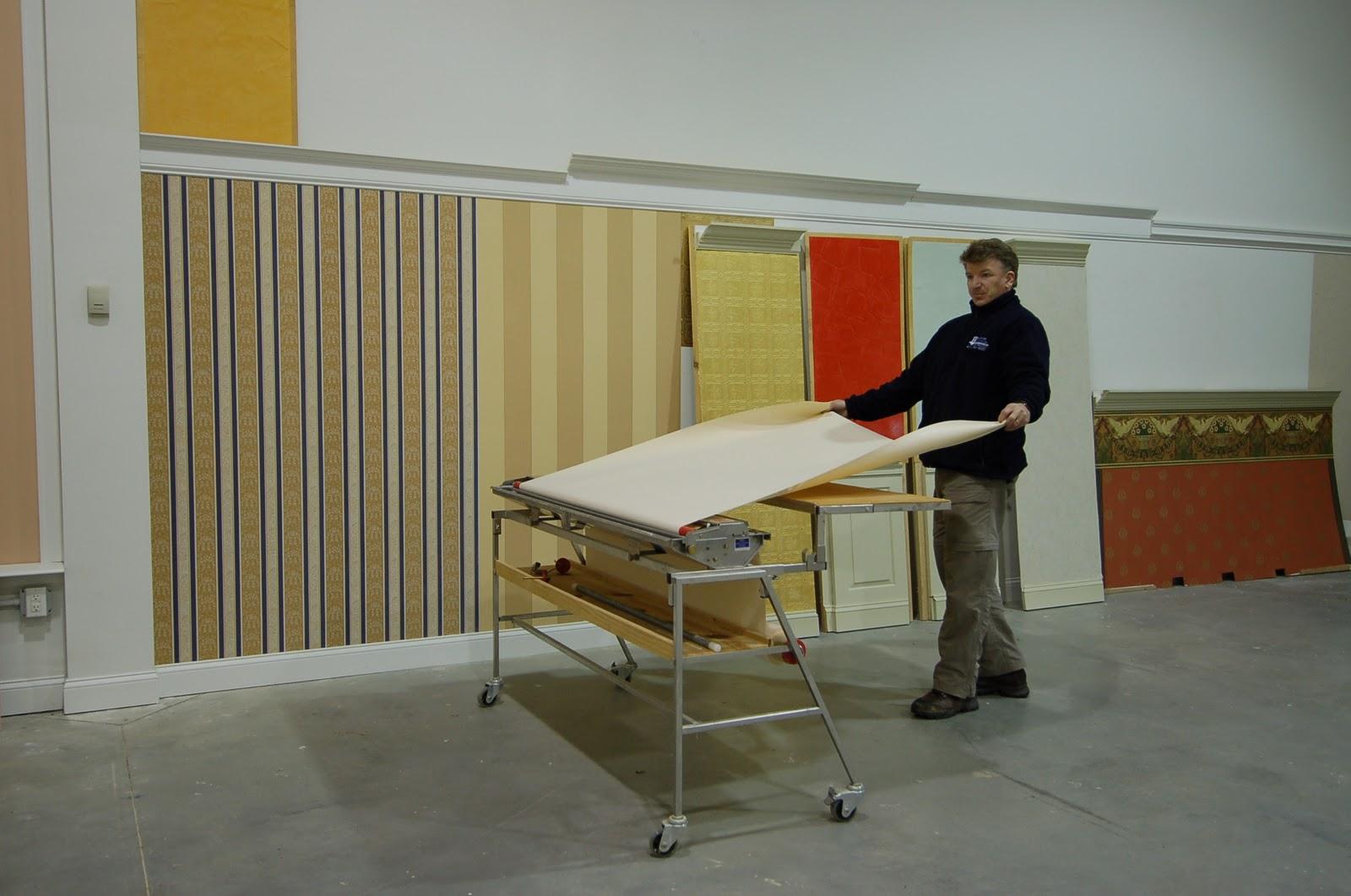 Wallpaper paste machine rentals - Commercial wallpaper pasting machine ...