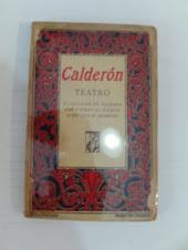 Livro antigo de teatro