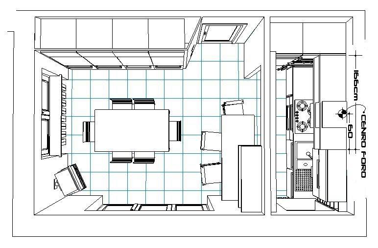 Wh laboratorio di creativit restilyng di un cucinino for Laboratorio con alloggi
