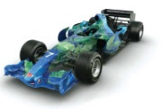 Honda Globe F1 racing car