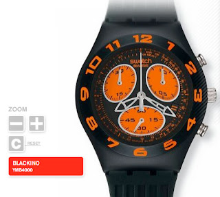 swatch blackino