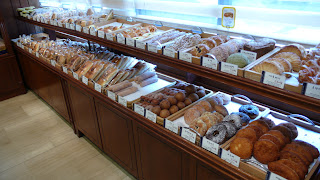 Richemont bakery, pastries selection