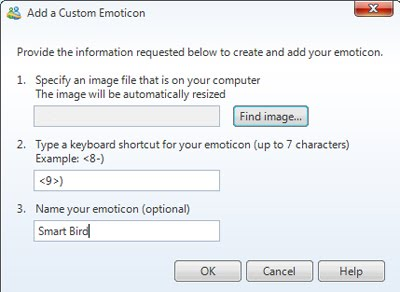 Create Your Own Winks and Emoticons in Windows Live Messenger