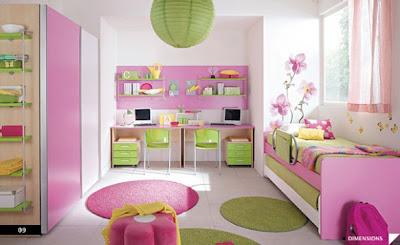 Dormitorios Para Ninos Y Ninas Columbini Decoracion De Salones - Escritorios-de-nias
