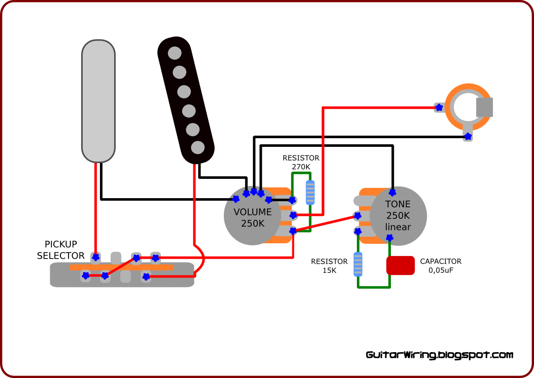telecaster electric guitar wiring diagrams the guitar wiring blog - diagrams and tips: warm sounding ...