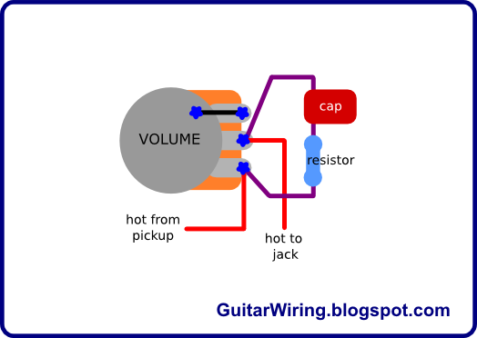 The Guitar Wiring Blog  diagrams and tips: Treble Bleed Mod
