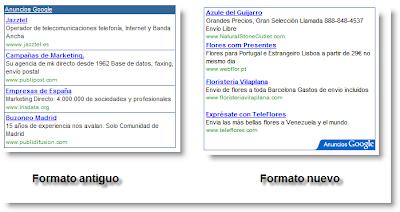 nuevo formato de AdSense