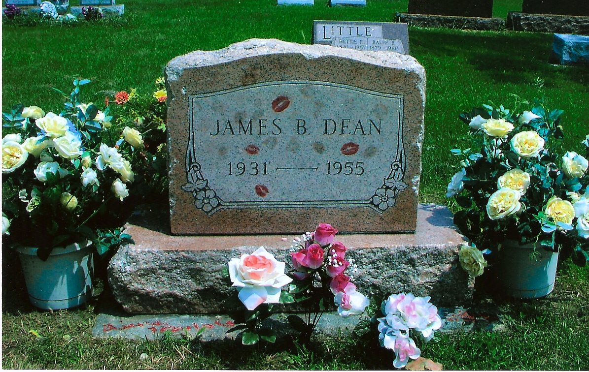Literary Crushes/Grave Matters: James Dean
