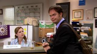 Dwight as Jim