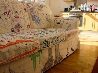 Sofá de Pintar