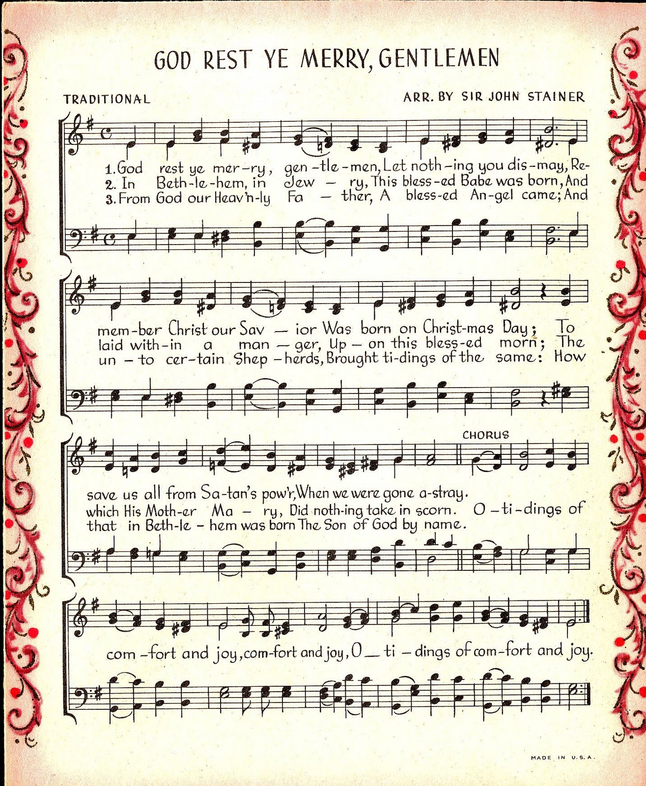 The Sum Of All Crafts Make Merry Music