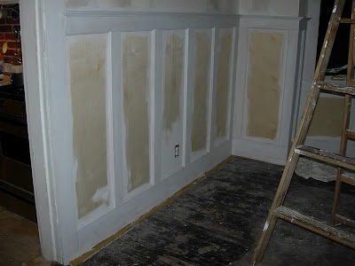 1900 Farmhouse Priming The Panel Wainscoting
