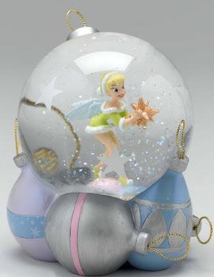 Tinkerbell Christmas Decorations Uk.Disney Snowglobes Collectors Guide Tinkerbell Christmas