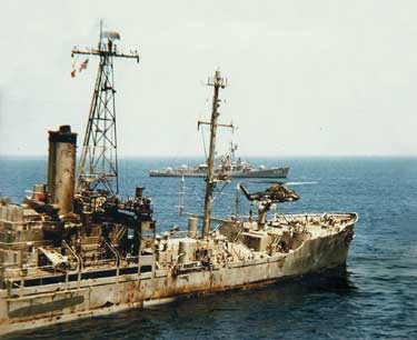 The USS Liberty - After The Attack by ISRAELI Forces