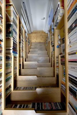 bifurcated stair