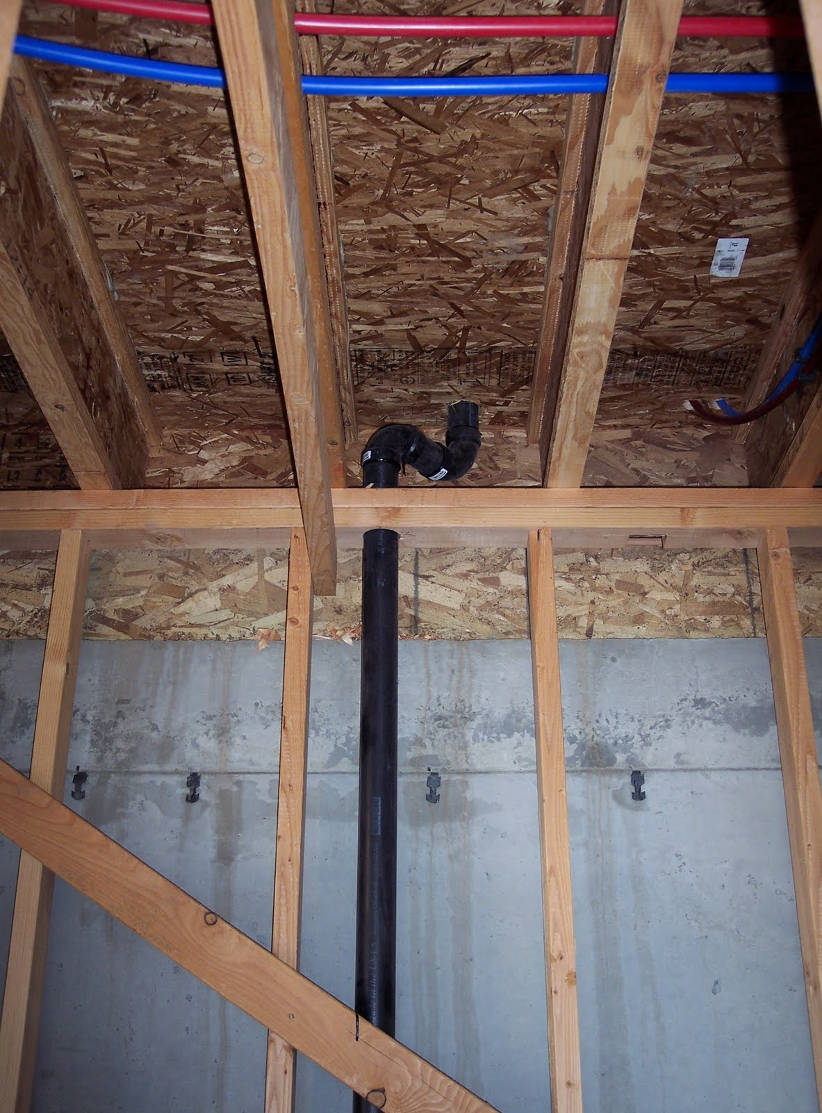 Building A Home Plumbing Rough In Continued 9 11 2010