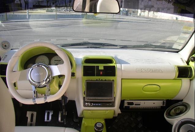 Tuning corsa b verde interior for Opel corsa b interieur
