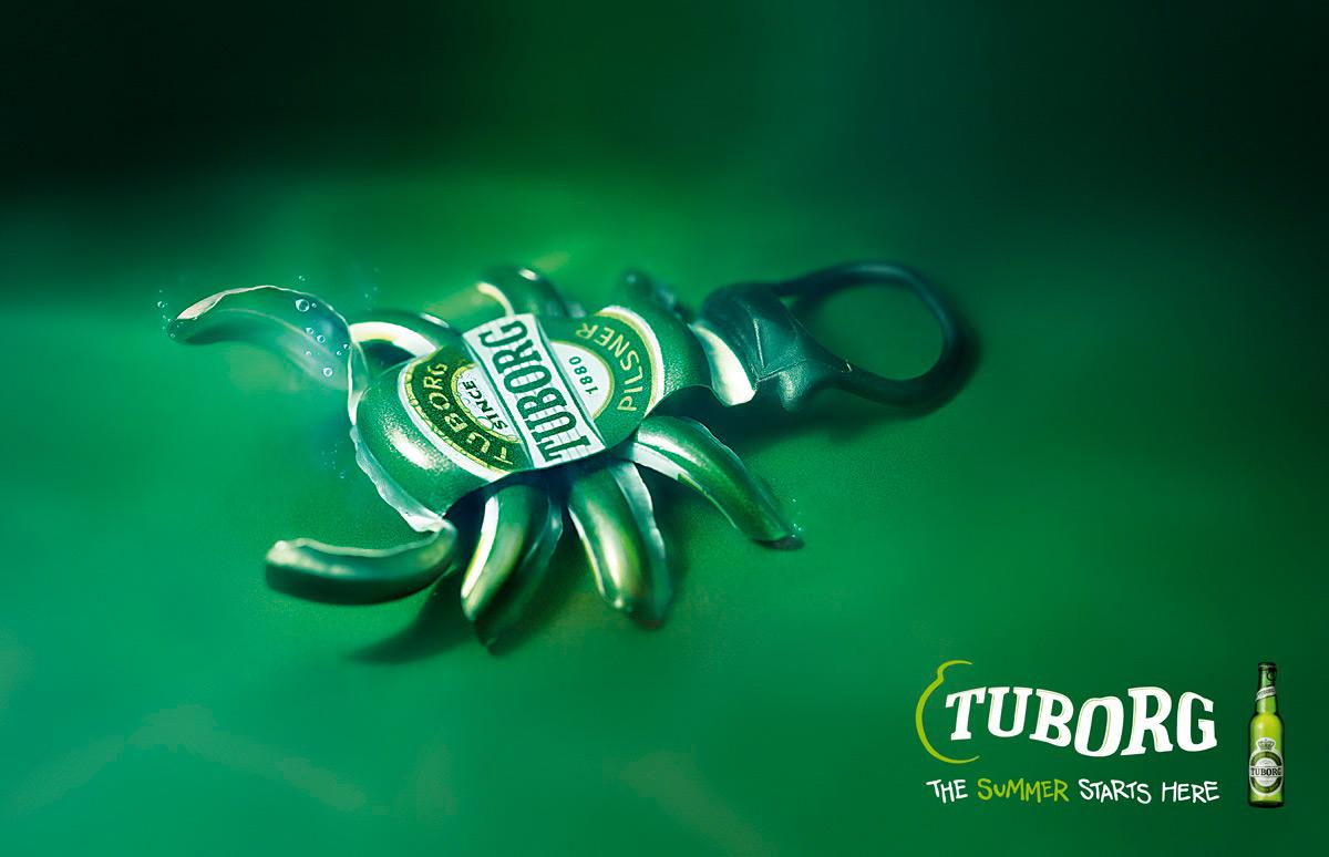 Tuborg reklam afi�leri