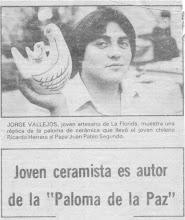 """""""Paloma de la Paz""""  1981"""