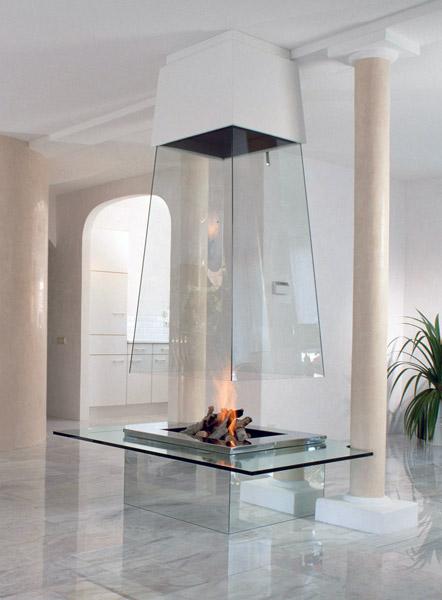 Chimeneas decorativas chimeneas estufas radiadores for Construccion de chimeneas de lena