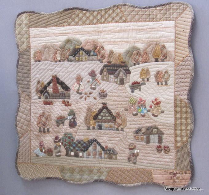 Scrap quilt and stitch la maison de reiko kato - Reiko kato patchwork ...