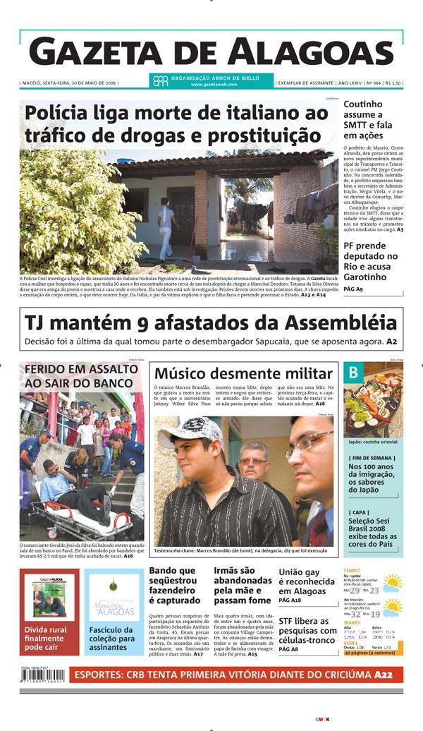 [capa+gazeta+de+Alagoas]