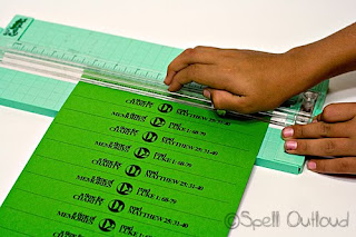 Cutting Paper Strips