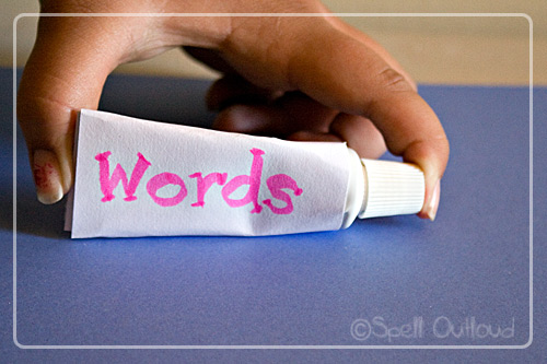 Words Are Like A Tube Of Toothpaste