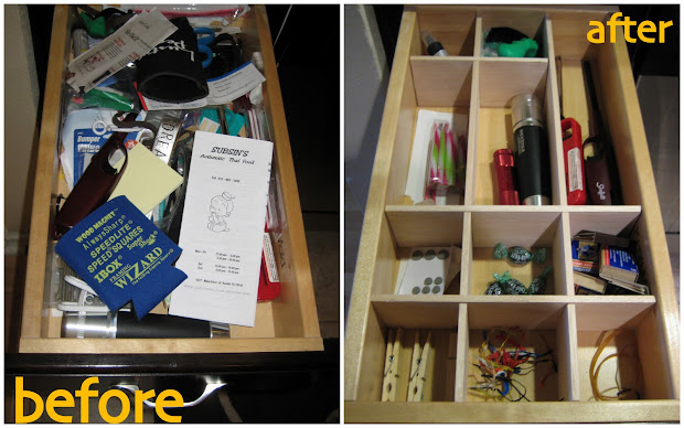 Kitchen Junk Drawer Organizer