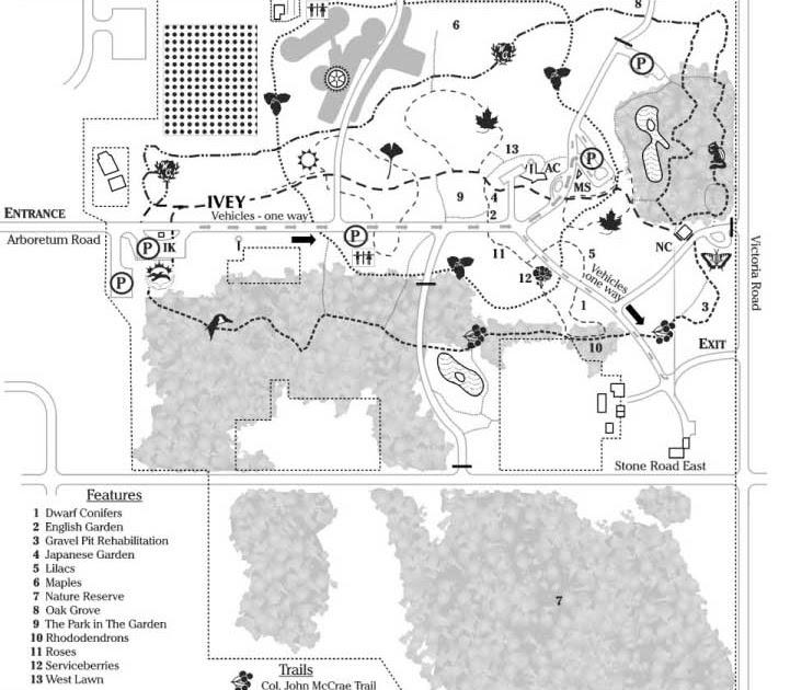 Guelph Area Trails Guelph Arboretum - Guelph map