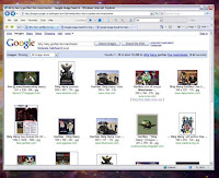 Screen shot Google Images search