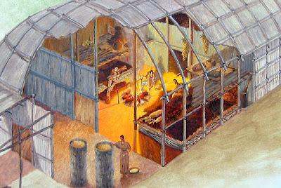 Ojibwe Dwellings And Furniture