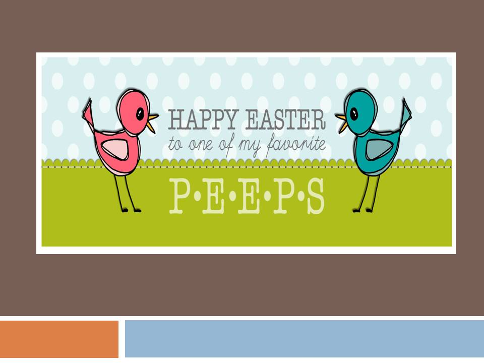 Home2luv Happy Easter To My Peeps