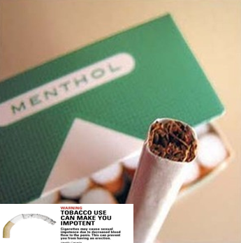 Menthol on penis to get erection