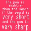 Pen v. Sword