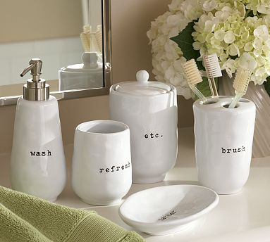 The Many Faces of Mom: Makeover - Walmart bathroom accessories