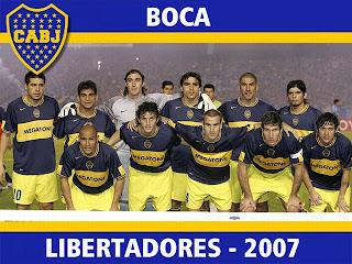 Copas internacionales de Boca Juniors