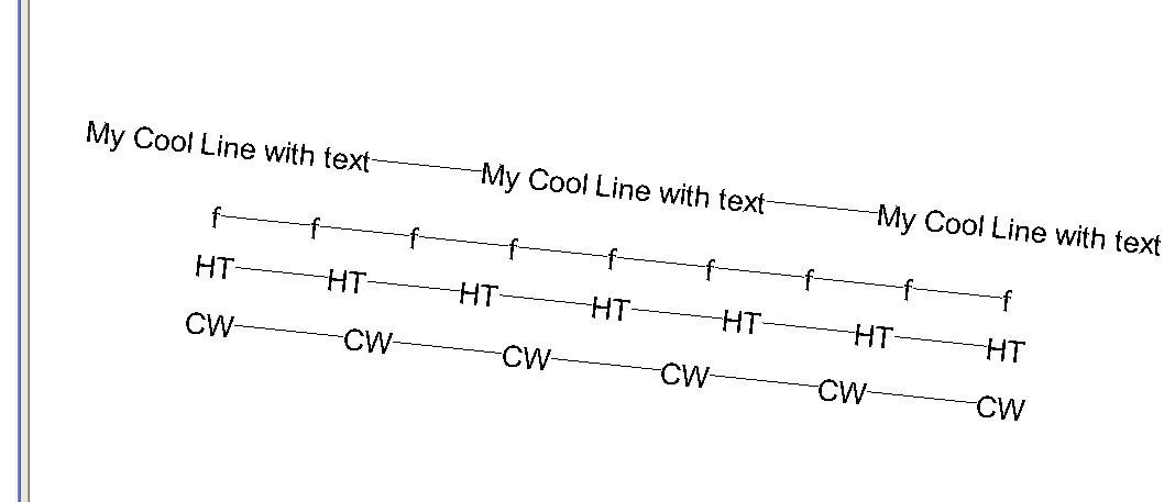 Revit Family Man: Text value Line Styles