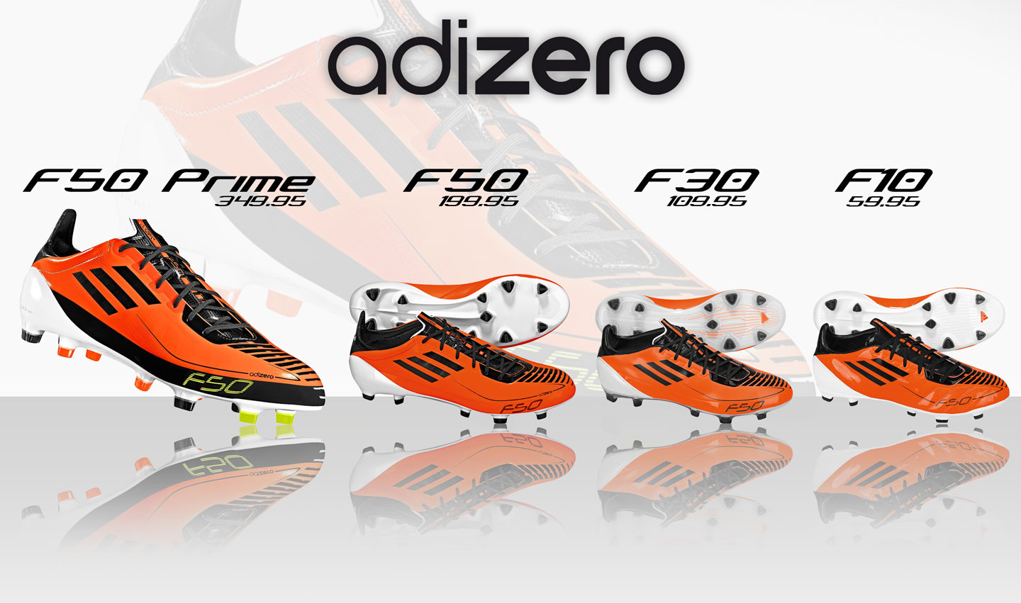 f084a2f170f4 Images of the Prime and adizero II by adidas. These are new color ways of  what color the boots might come out as.